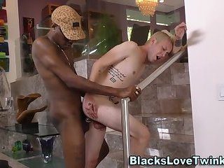 Twinks tight hole railed