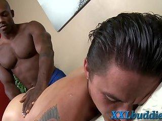 Hunk blows masseurs bbc