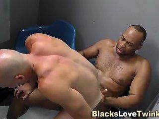 Black dude drilling ass