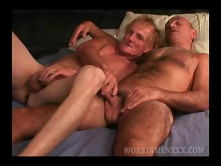 Mature Amateurs Jack and Vito Play