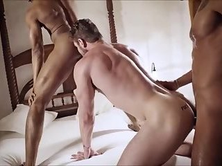 2black and 1ginger Cock