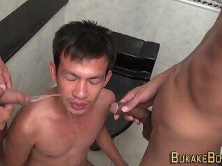 Gay asian twinks cumming