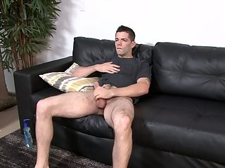 Army muscle assfucked after blowjob scene