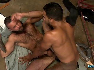 Hardcore Gay Anal Sex With a Big Black Cock