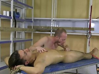 Rubbing Cocks In The Storeroom - Maxxie Wilde & Sean Taylor