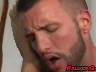 On anal foursome with and facial