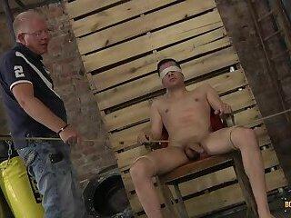 Hung New Arrival Mason Gets Stroked - Mason Madison & Sebastian Kane