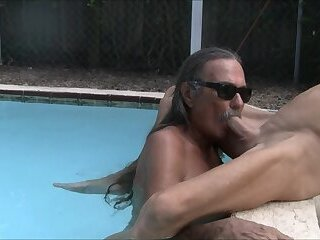 Jamie Deep Throats TV Jenny in the Pool #1