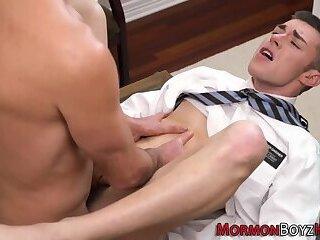 Teen mormon fucked raw