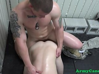 Amateur soldiers fucking and sucking