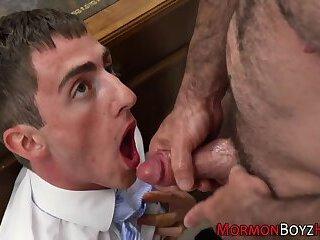 Religious mormon blows