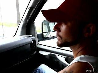 Max Sargent Fucks Marxel Rios In A Van