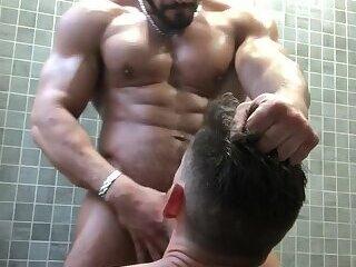 Gym shower fuck