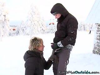 nailing Ski Instructor