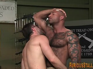 Well hung gays rimming and ass fucking