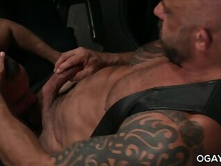 Hairy gay man assfucked his latino friend