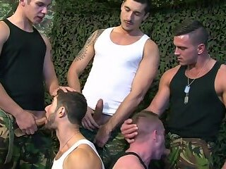 Paddy O'Brian & Dean Monroe Jay Roberts Paul Walker Scott Hunter - The Drill Sergeant Part 3