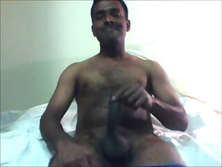 Indian gay crossdresser eating female thongs and cumming on webcam chat