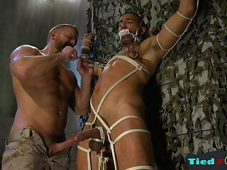 Submissive black hunk getting cocksucked