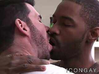 Passionate anal sex with Billy Santoro and Lawrence Portland