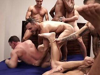 Bareback Orgy Part 2