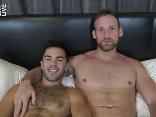 JasonSparksLive - Riley Ross and Logan Carter bareback after swapping head
