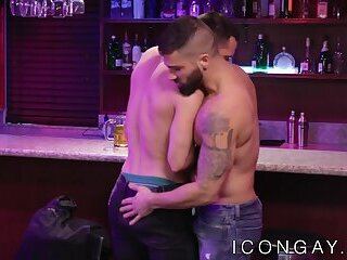 Passionate gays rimjob each other and anally fuck