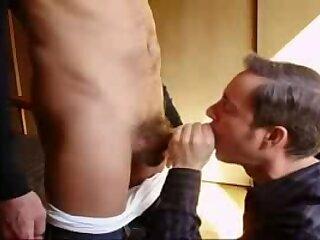 A Man Face Fucking a Faggot