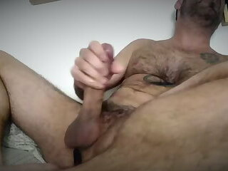 Stud with thick cock shoots