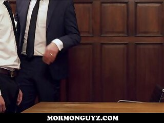 Cute And Fit Young Latino Mormon Twink Fucked By Church Leader