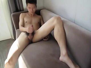 Handsome Chinese Boy Hotel Interview
