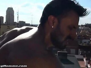 hot sex on the rooftop