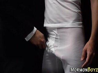 Mormon fingers guys asshole