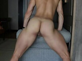 Alam Wernik Solo Butt Show | Ass Fingering | Dildo | Webcam
