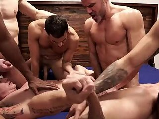 The Lucas dudes gang, group-sex, And plow (Part 02)