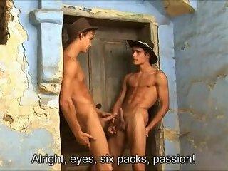 dirty boy's Outdoor pleasure