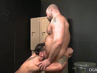 Raging Cock Jaxx Thanatos Pounds Handsome Gustav Netto in the Ass