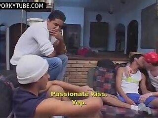 Brasilian Guys have Fun and Gay Eatcum