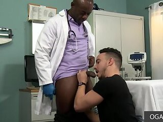 BBC Aaron Trainer shows Alessio Vega who's Boss