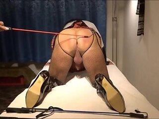 Spank Crossdresser slave