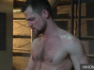 A steamy Gay Experience at the Steam Room - Eddy Ceetee, Kurtis Wolfe
