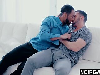 Married guys have gay affair - gay interracial sex