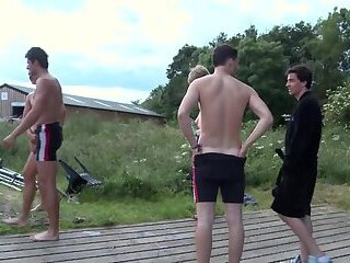 Naked Boys Rowing: Brokeback Boathouse - 2013