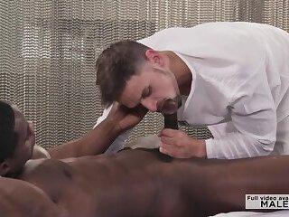 Massage Guy Treats himself with BBC Customer