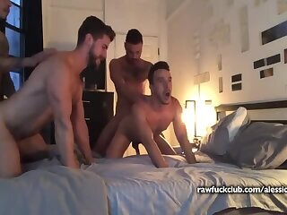Alessio Vega & His Husband Get Tag Teamed - RFC
