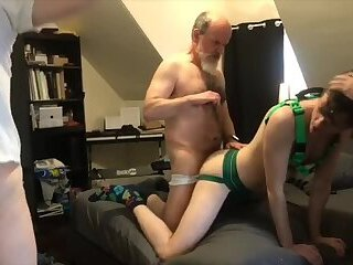 Son Gangbanged by Stepdaddies Part 1 Babe Rogers 480p 0