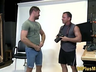 Muscular stud pounding guys ass