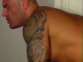 Muscle latino fucking
