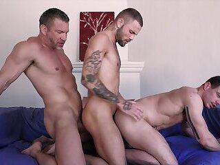 Tomas Brand & Jeffrey Lloyd Jesse Santana - Daddy Threesome