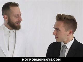 Blonde Twink Mormon Boy With Six Pack Abs Fucked By Priest